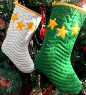 画像2: サンタ&スノーマンのクリスマス・ソックス