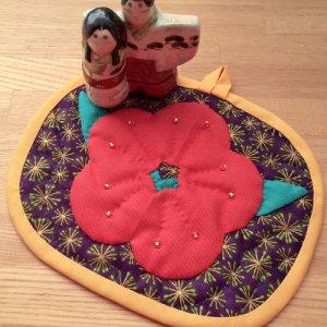 画像1: 小梅のプチ・タペストリー
